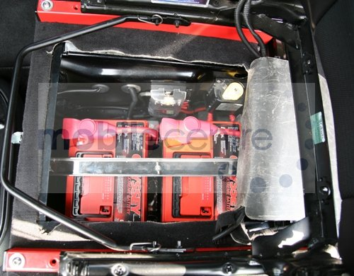 Defender Puma Twin Battery Tray For Dual Batteries
