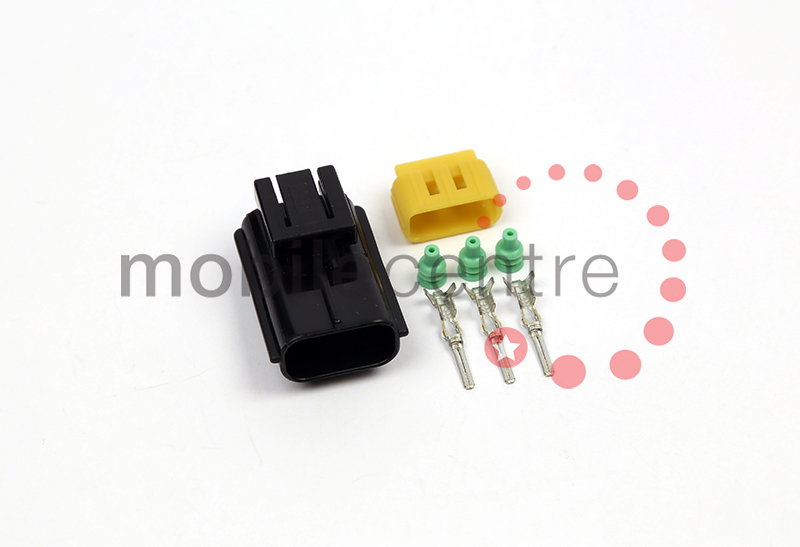 Three way male AMP Tyco TE Econoseal connector same as Durite 00-12 ...
