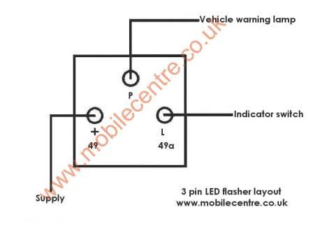 [SCHEMATICS_4ER]  LED Indicator Flasher relay 12 volt 3 pin 30W - Mobile Centre | Wiring Diagram Indicator Flasher Unit |  | Mobile Centre